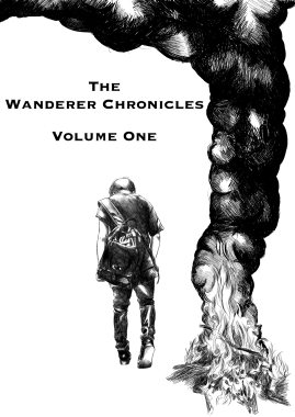 The Wanderer Chronicles Front Cover words